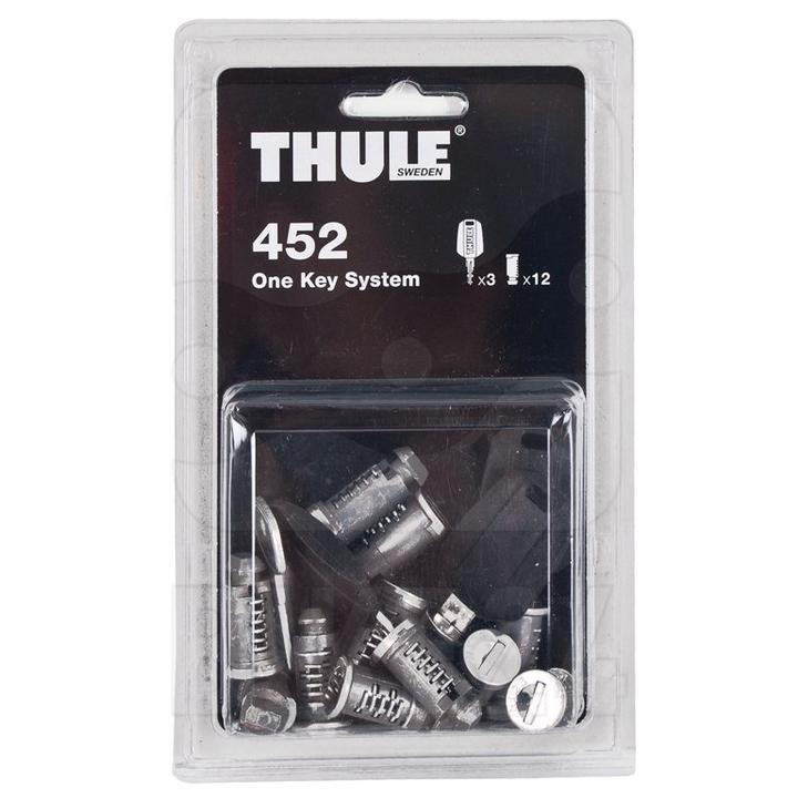 Zámková sada Thule 452 (12 zámků + 3 klíče)